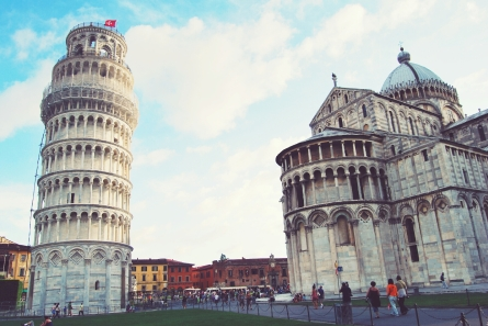 The Slightly Crooked Tower of Pisa