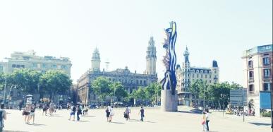 Square near Pl. Antonio Lopez