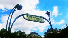 I love the metro signs in Paris!