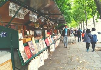Shops Along The Seine