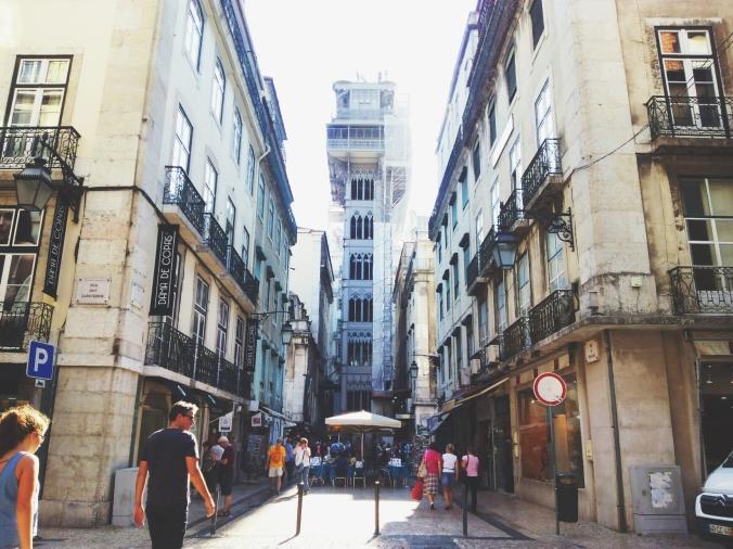 Santa Justa Lift / Lisbon, Portugal