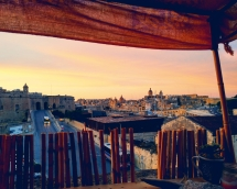 Rooftop views, Malta