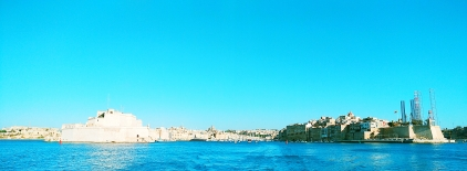 View of Three Cities, Malta