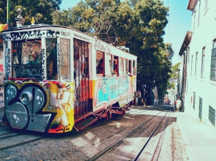 Graffiti Alley, Lisboa
