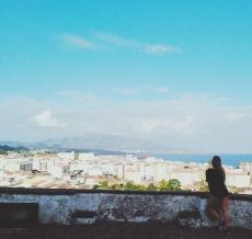 Overlook of Ponta Delgada, Azores (PT)