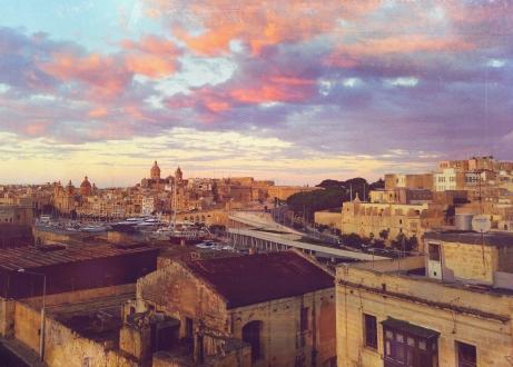 October Sunset, Malta.
