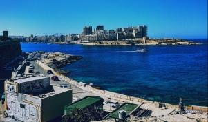 View of Sliema from Valletta