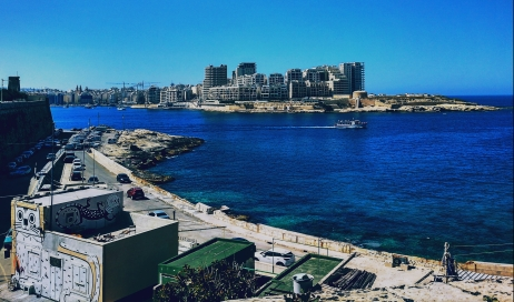 View of Sliema from Valletta