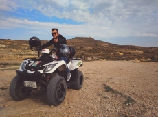 Cruising through Gozo