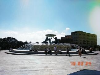 Triton Fountain, Malta